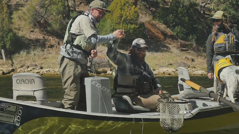 Fishing Cicadas on Utah's Green River