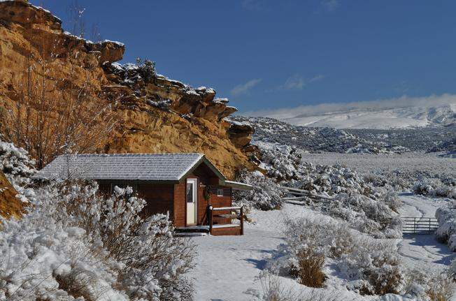 Spring Creek Ranch Cabin-Winter