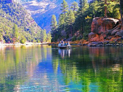 Green river flyfishing float trips wrf guides for Fly fishing green river utah